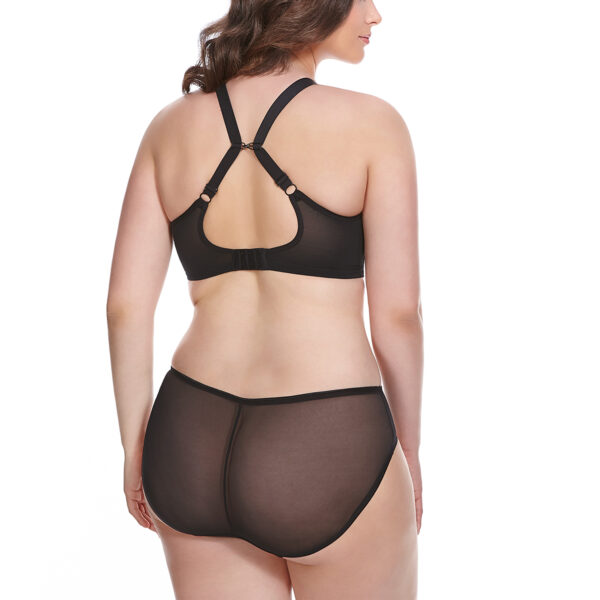 Sexy plunge bra plus size