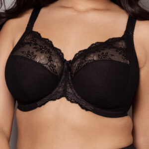Black bra in bigger sizes