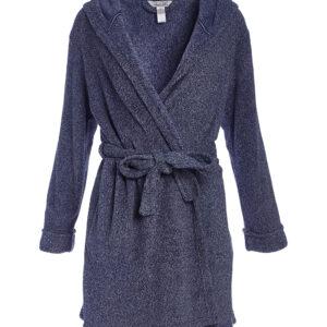 Soft fleece bath robe