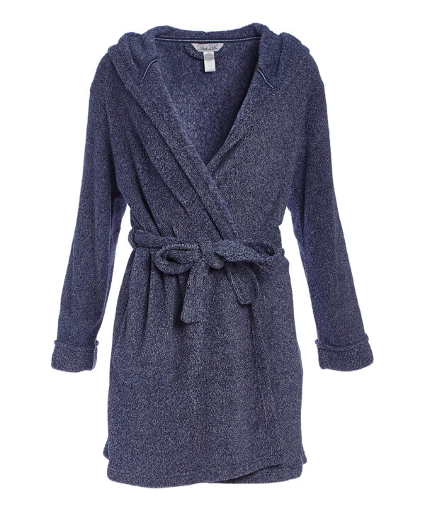 Soft fleece bath robe