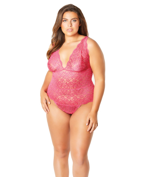 Pink Lace Teddy